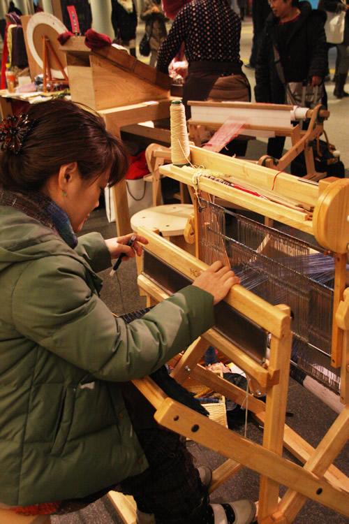 手織教室 アトリエ・サンク