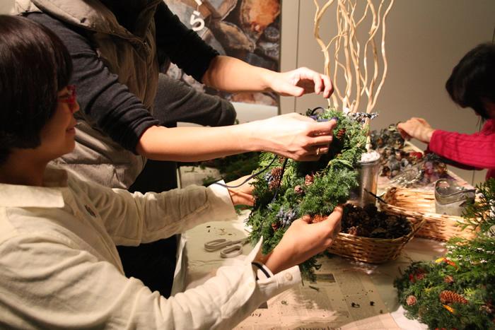 En priere self-made wreath workshop