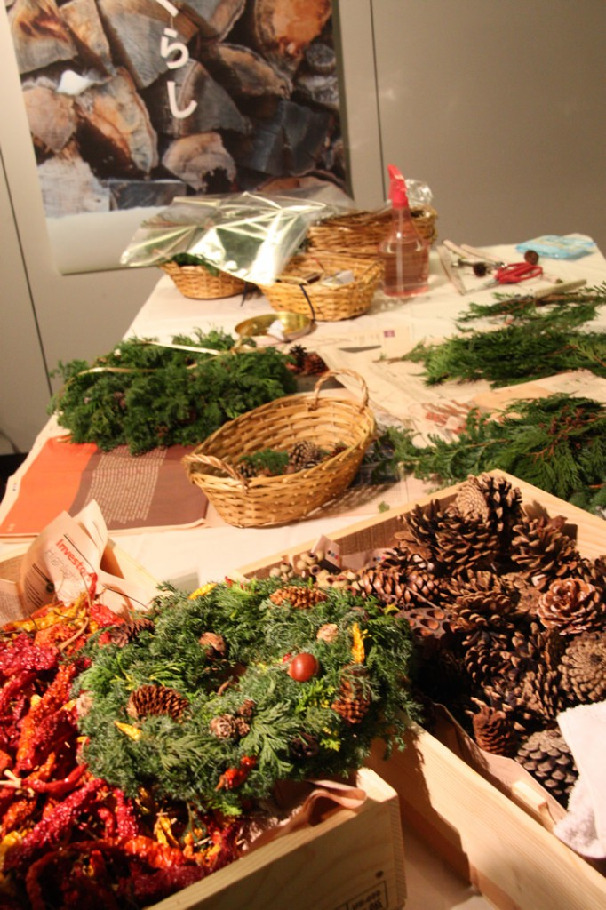 En priere self-made wreath workshop